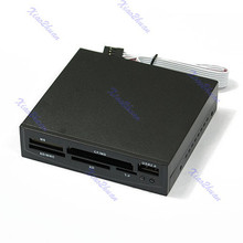 1pc for 3.5 inch USB Internal MS CF MD SD MMC XD TF Card Reader(China (Mainland))