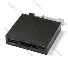 1 pc para 3.5 polegada USB Interno CF MD MS SD XD MMC TF Leitor de Cartão(China (Mainland))