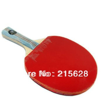 Freeshipping original DHS DOUBLE HAPPINESS X6002 table tennis racket 6 stars PING PONG paddle long handle hubbricate 3+skyline 2