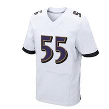 Mens #89 Steve Smith Sr #5 Joe Flacco #55 Terrell Suggs #9 ustin Tucker jersey Purple Black White Elite 100% Stitched logos(China (Mainland))