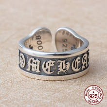 Buy It's high-fashion, retro, retro letter-man ring ring creative personality (fake one punishment ten) for $10.55 in AliExpress store