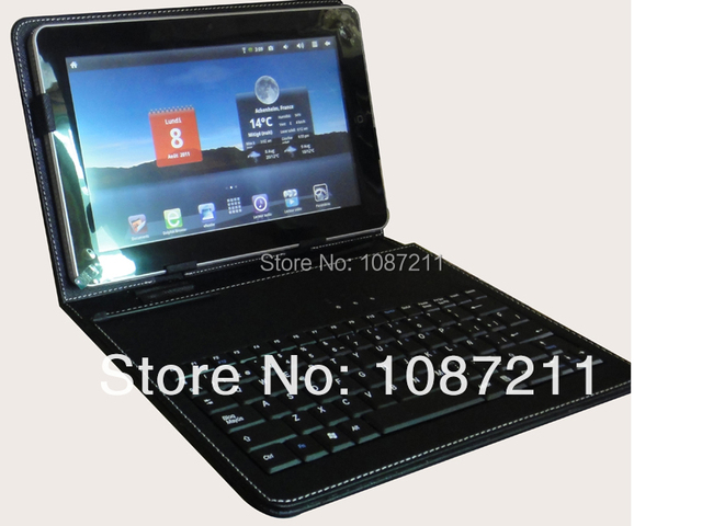 8 inch Tablet pc case with Keyboard with micro usb
