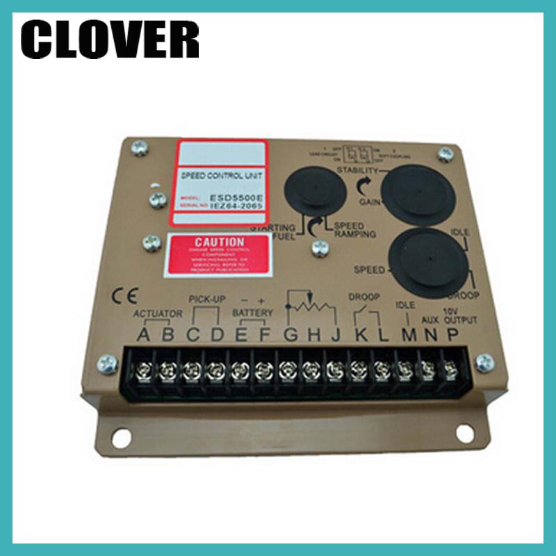 Здесь можно купить  GAC ESD5500E Electronic Speed Controller unit Speed Control speed governor for Generator  Электротехническое оборудование и материалы