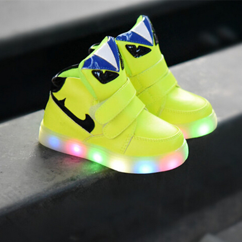 2015 autumn new kids children shoes led lights shoes baby. Black Bedroom Furniture Sets. Home Design Ideas