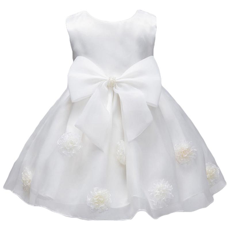 High Quality Baby Girl Dress Baptism Dress for Girl Infant 1 Year Birthday Dress for Baby Girl christmas Dress for Infant(China (Mainland))