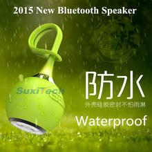 2015 New Style Outdoor Sport Wireless Bluetooth Speaker Waterproof mini portable speaker support TF card drop resistance