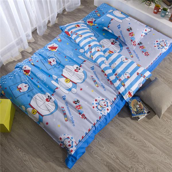 Здесь можно купить  Kids Bedding Comforter Sets Twin Size,3pc Duvet Cover +1pc Quilt in a bag,100% Cotton Single Cartoon Boys Quilt Comforter Sets  Дом и Сад