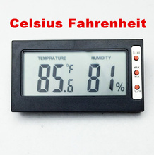 Buy 10 pcs hygrometer temperature humidity meter thermometer sensor TEMP tester Digital LCD Celsius Fahrenheit conversion for $39.90 in AliExpress store