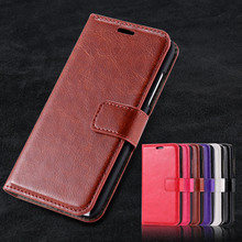 N630 Vintage Luxury Crazy Horse PU Leather Case For Nokia Lumia 630 635 N630 N635 Flip Case Stand Wallet Photo Frame Cover