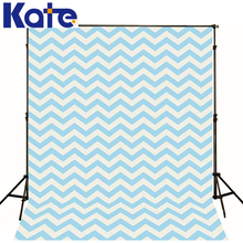 Photography background cute white blue striped twill princess boy photo studio kate backdrops