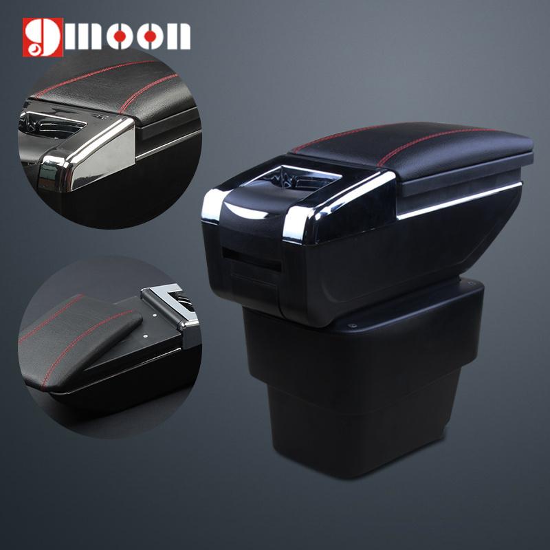 Upgrade 7 Generation Car Armrest Center Console Storage Box auto accessories for KIA 2011 2012 2013 2014 Rio K2(China (Mainland))
