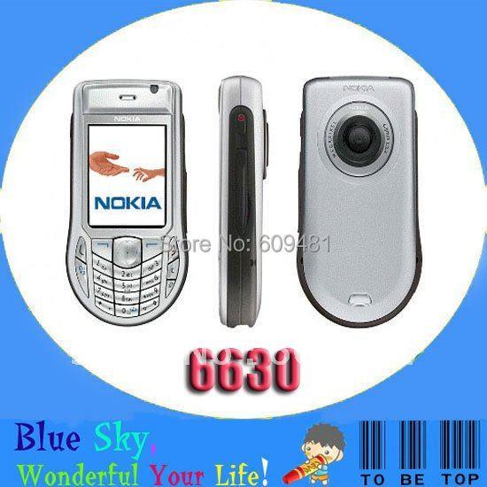 Swiss post free shipping cheap original 3G phone nokia 6630(China (Mainland))