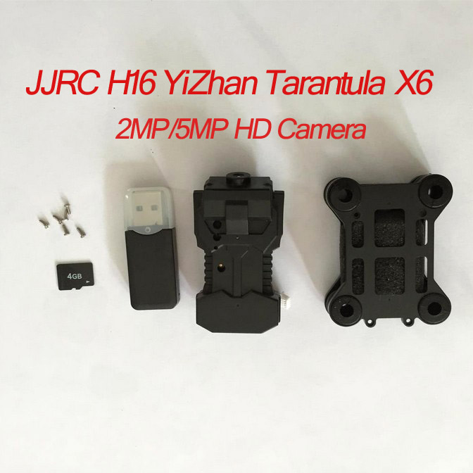 JJRC H16 YiZhan Tarantula X6 RC Quadcopter Spare Parts 5MP Wide Angle Camera with PTZ Mount 4G Card,Card Reader and Srews(China (Mainland))