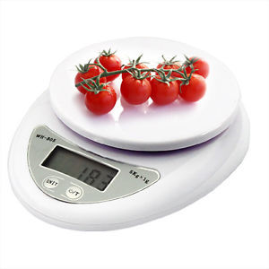 5kg 5000g 1g Digital Kitchen Food Diet Postal Scale Weight Balance Electronic Household Weighing CookingScales - DriMi store