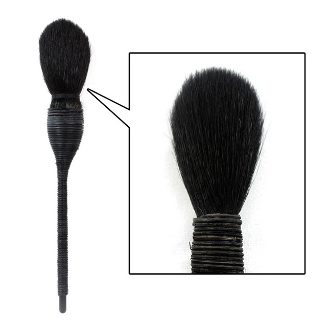 Free shipping Gourd blush brush foundation brush powder brush loose powder brush natural rattan
