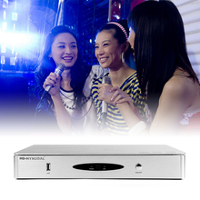HD-HYNUDAL Chinese Karaoke Player Sing machine 2TB HDD System 40K Original KTV MTV Songs Have Wifi Fuction can connect the photo(China (Mainland))