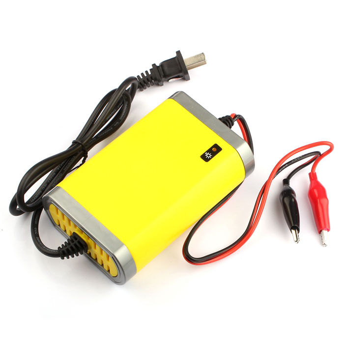 AC 220V Car Motorcycle Battery Charger 12V 2A Automatic Power Supply Adaptor(China (Mainland))