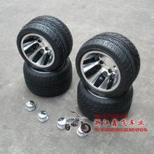 Atv 10 aluminum wheels vacuum tyre flat beach car - 10 tyre aluminum rim set(China (Mainland))