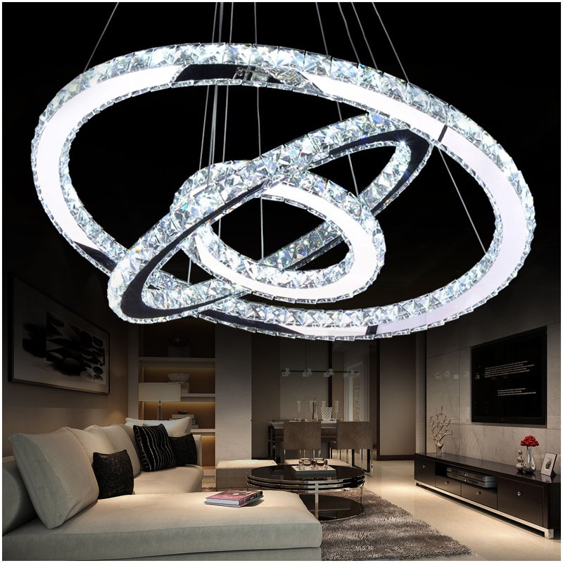 Aliexpress Buy LED Crystal Chandelier Light Modern