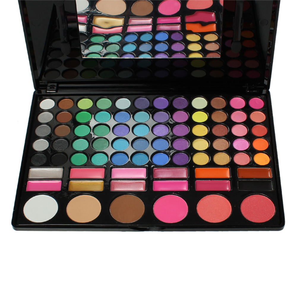 Гаджет  3#Make Up Eye Shadow eyeshadow eyebrow Glitter Matte contour Palette Kit Lip Gloss Blusher Cosmetic Waterproof Multicolor Mirror None Красота и здоровье