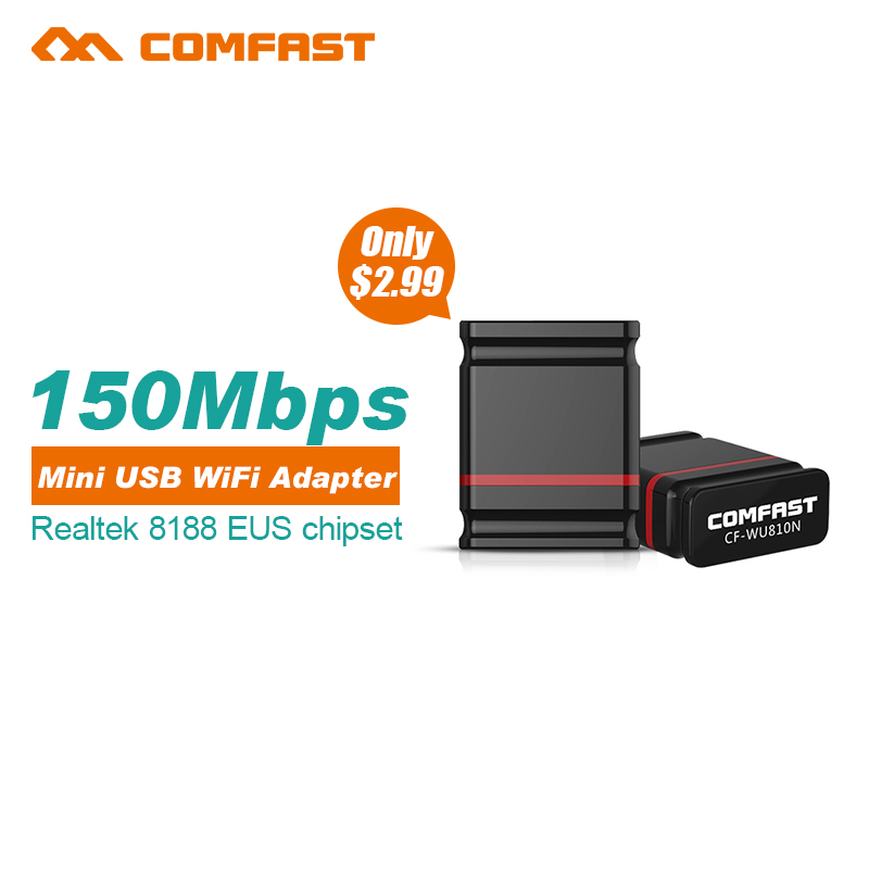 Mini USB WIFI 150M Wifi Adapter 802 11n g b Wi Fi Antenna 150Mbps Wireless LAN