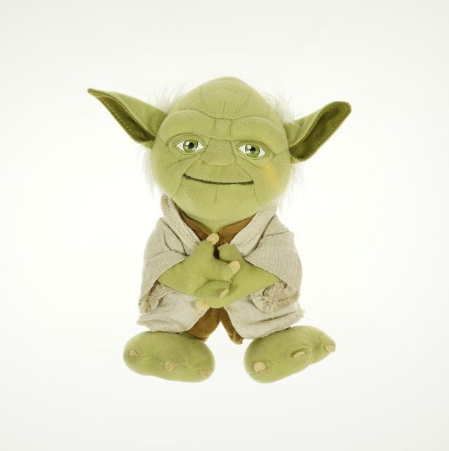 Звездные войны йода плюшевые игрушки звездные войны йода рис 21 см симпатичный мини йода мягкая игрушка кукла на день рождения рождественский подарок