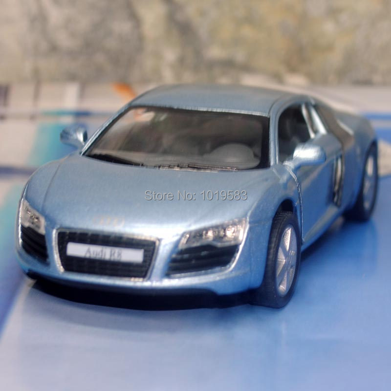 Brand New 1/38 Scale Car Model Toys AUDI R8 Diecast Metal Pull Back Car Toy For Gift/Collection/Children -Free Shipping(China (Mainland))