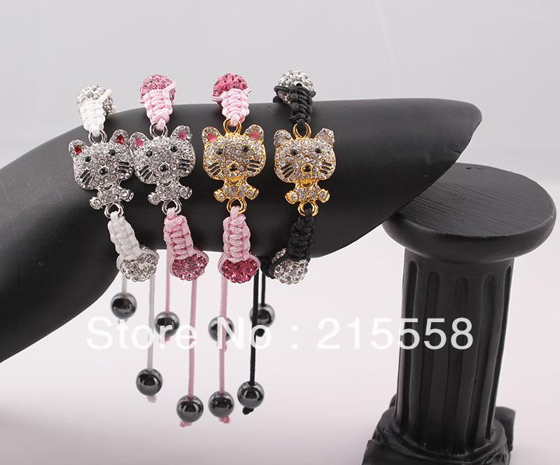 Браслет на шнурках Fashion Shamballa ZBE32 ZB32 браслеты шамбала shamballa original в днеперопетровске