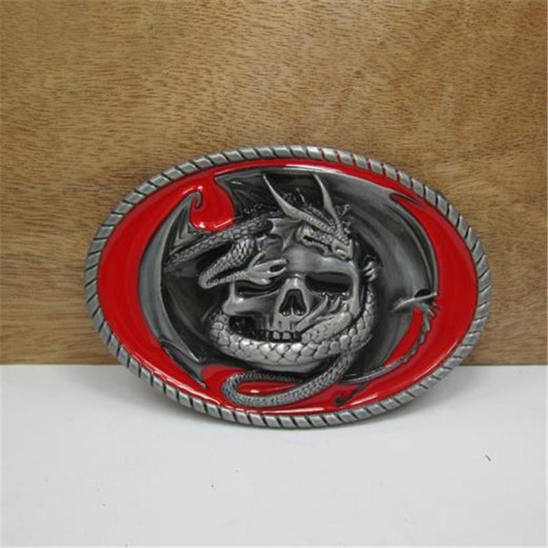 Free shipping cowboys belt buckles metal Game of Thrones Skull dragon DIY brand luxury mens designer belt buckles Christmas gift(China (Mainland))