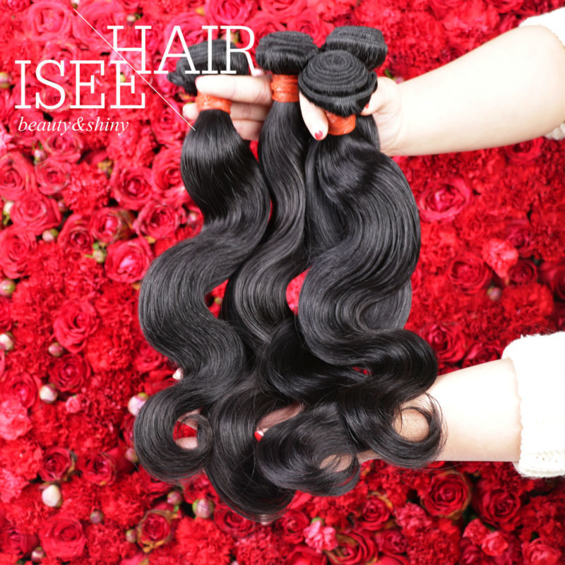 On Sale Mslula Hair Company 7A European Body Wave Virgin Hair Tissage Remy Human Hair Extensions 4 Bundles(China (Mainland))