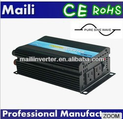 High Efficiency>90% Solar Inverter Battery Charger Inverter 12V5A 600w DC 24v to AC 120v Maili Brand(China (Mainland))