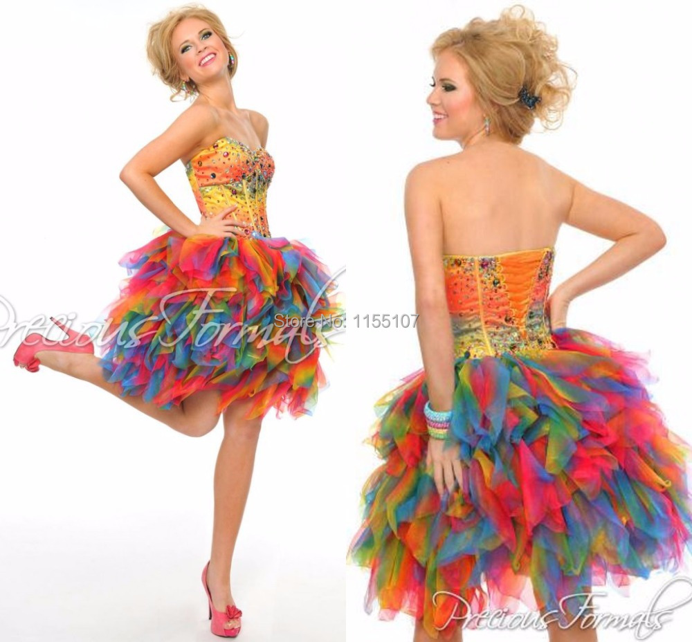 Colorful Party Dresses