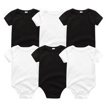 2019 Unicorn Bodysuit Roupa de bebe Baby Clothes Cotton Clothing Sets Baby Girl Clothes Newborn 0-12M Baby Boy Clothes(China)
