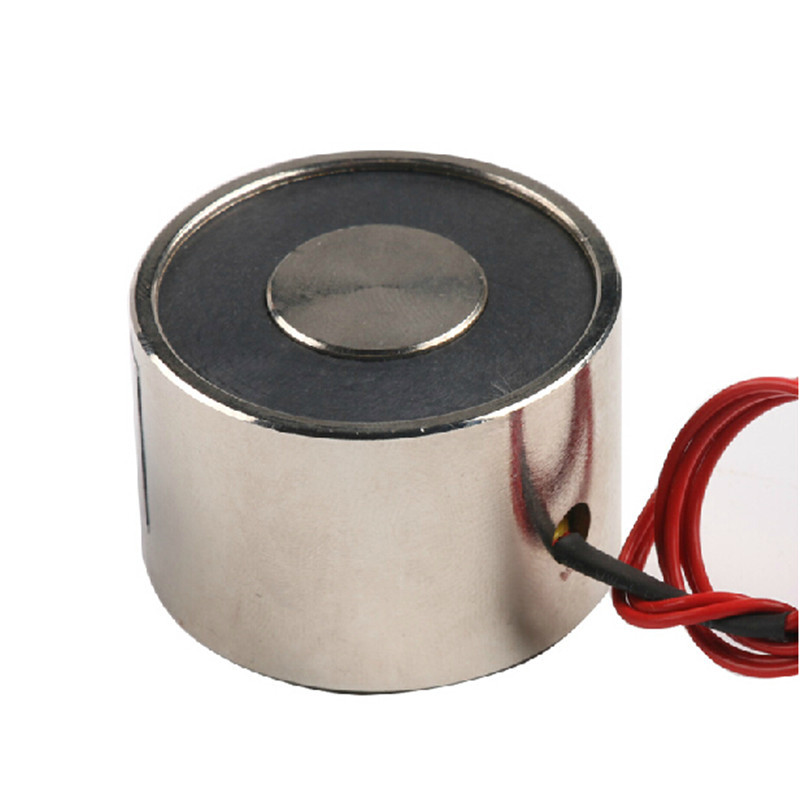 P40/25 Holding Electric Magnet , Lifting 30KG Solenoid Electromagnet DC 6V 12V 24V 8W(China (Mainland))