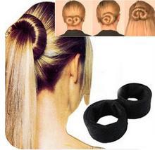 European Fashion Multifunction Magic Braiders Hair Twist Styling Clip Stick Bun Maker Braid Tool Black Barrette hair maker MH216
