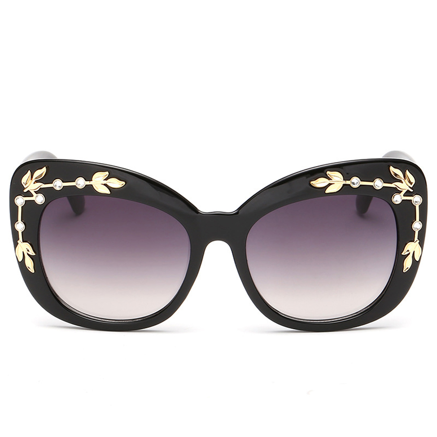 Ms new high quality big frog mirror frame glasses brand ...