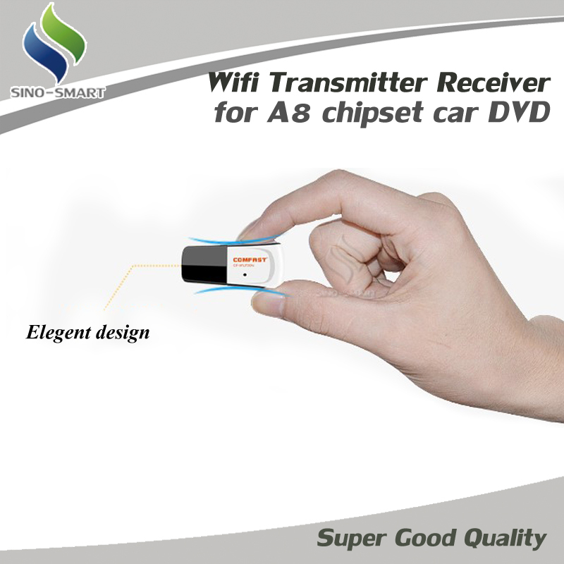 COMFAST Wifi Transmitter Receiver Dongle Mini 150M USB Wireless Network Card for A8 chipset Car DVD GPS Player(Hong Kong)
