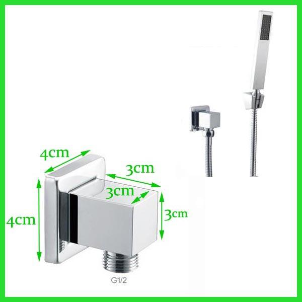 Acquista all 39 ingrosso online connettore flessibile doccia for Doccia tubo di rame