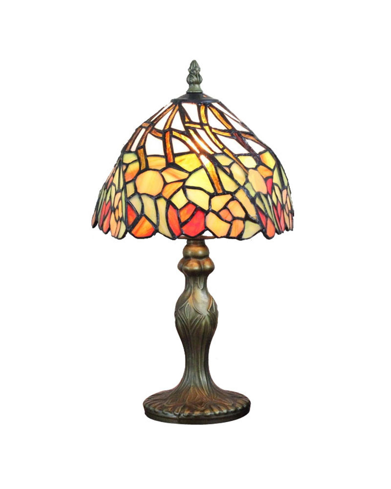 dhl free table lamps small tiffany style stained glass shade desk. Black Bedroom Furniture Sets. Home Design Ideas