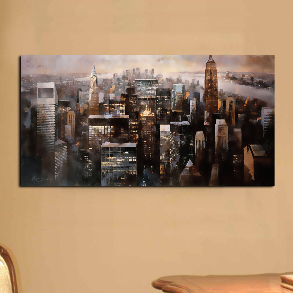 Buy modern wall art canvas painting wall for Modern home accents accessories