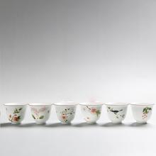 6pcs,Drinkware Coffee Tea Sets,Handpainted Chinese Tea Cup Set,Ceramic Tea Sets,Kitchen,Dining bar Teacups Porcelain(China (Mainland))