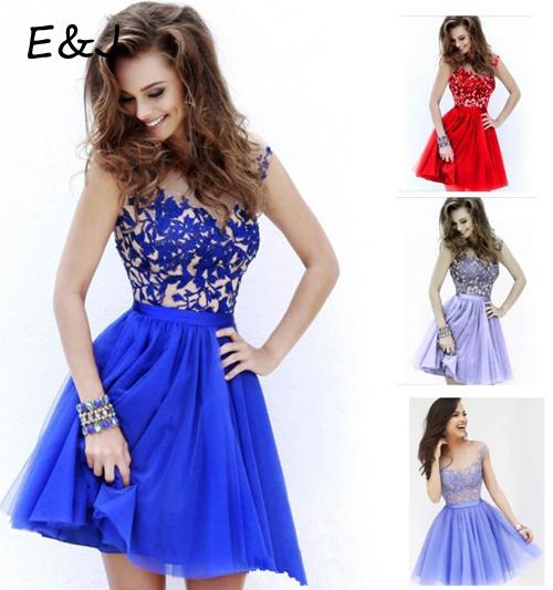 Free shipping sexy summer style lace patchwork chiffon dress hollow out cute dress vestidos(China (Mainland))