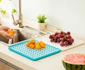 New Fashion Hot Sale PP Fruits Draining Board Two Layers Fruits Storage Holder Free Shipping