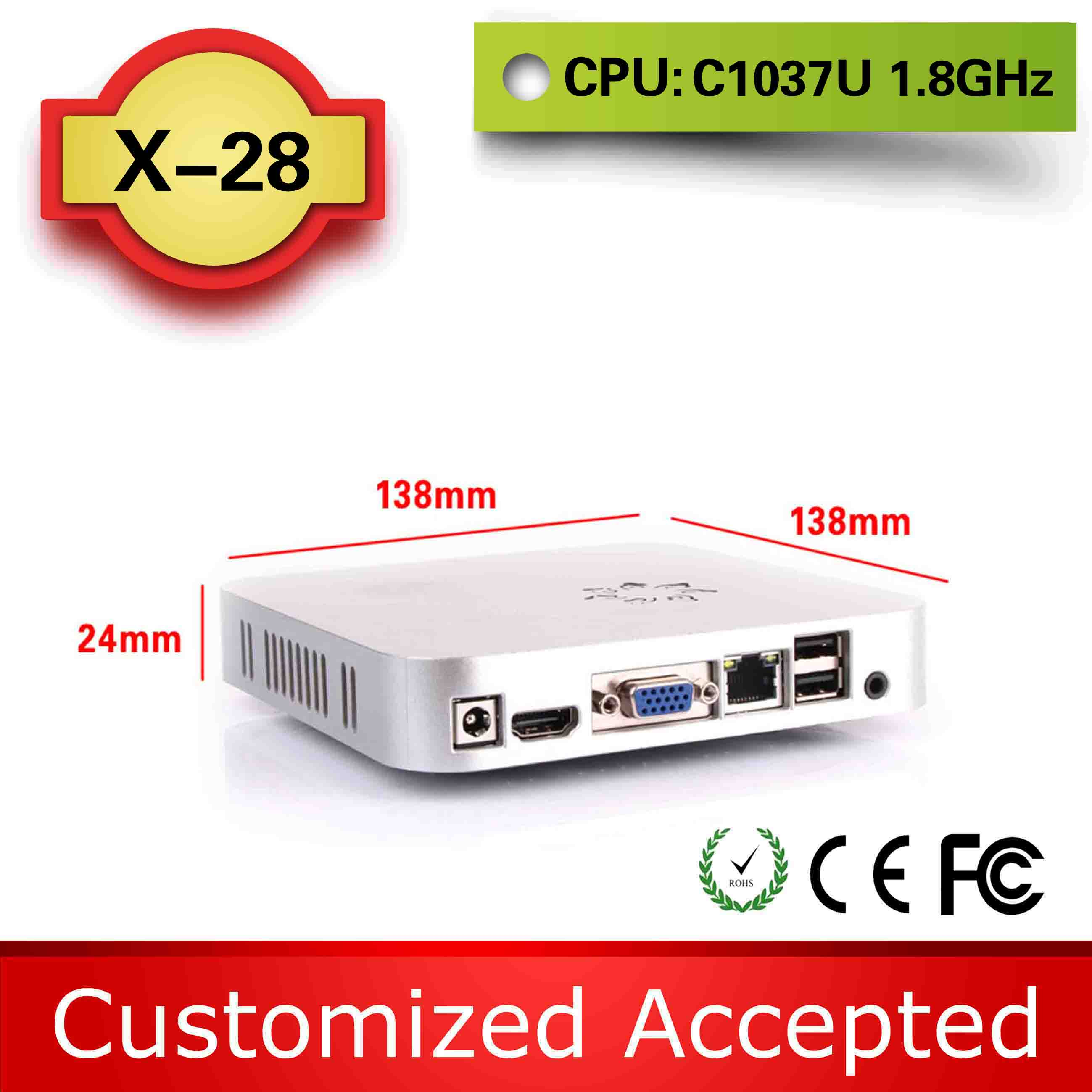 ncomputing device thin client mainframe computer X28 C1037U support wireless keyboard, mouse and touch(China (Mainland))