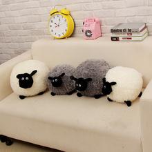 Retail hot sale 2016 new Shaun Shawn Sheep Plush Animals one piece 20cm gray white lovely kids toy Children's gifts(China (Mainland))