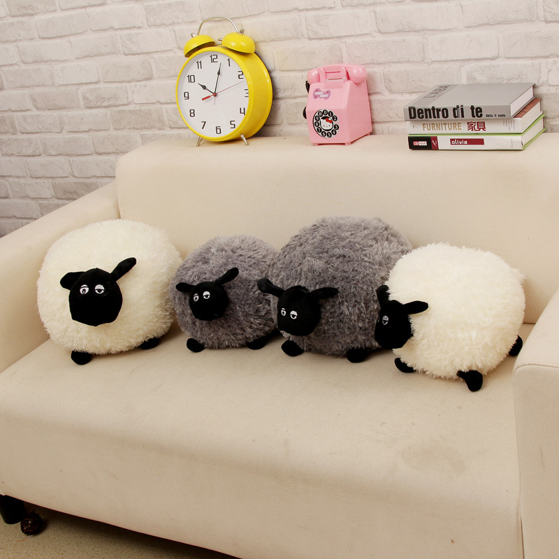 product Retail hot sale 2016 new Shaun Shawn Sheep Plush Animals one piece 20cm gray white lovely kids toy Children's gifts