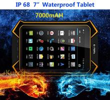 "Android Industrial Computer rugged tablet PCs IP68 Rugged waterproof smart phone call netbook 7"" HD Long standby GPS FM 8MP LMD9(China (Mainland))"