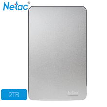 Netac K330 USB3.0 External Hard Drive Disk 2TB HDD Metal Housing HD Hard Disk Storage Devices With retail packaging(China (Mainland))