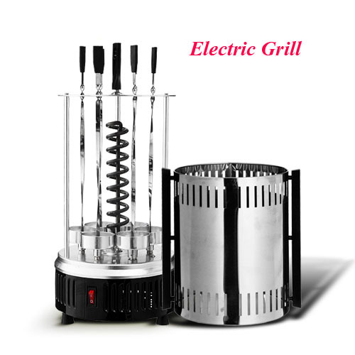 220V Electric Barbecue Grill Skewer Smokeless Bbq(China (Mainland))