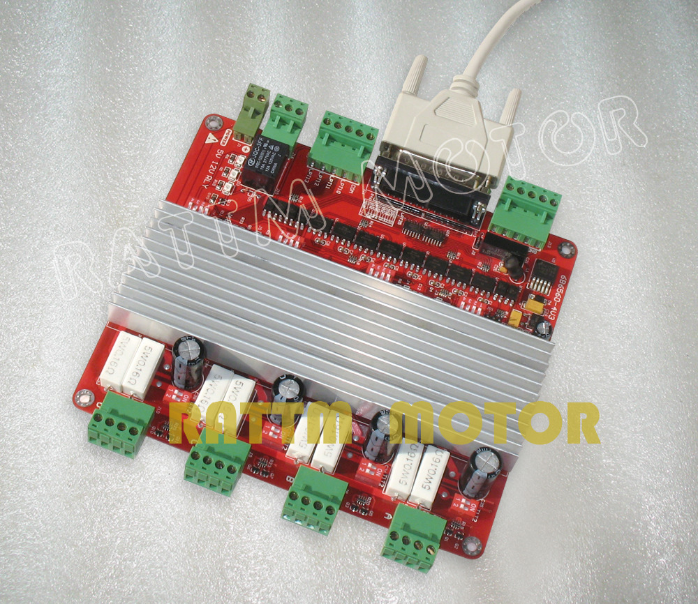 Buy 4 Axis Tb6560 Stepper Motor Driver Cnc Controller Board V Type From